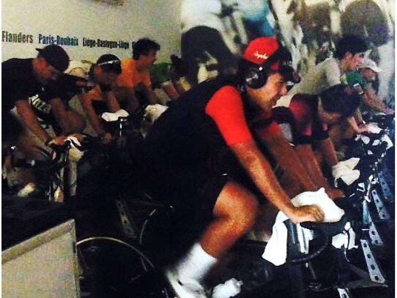 Cycling Session at Athlete Lab