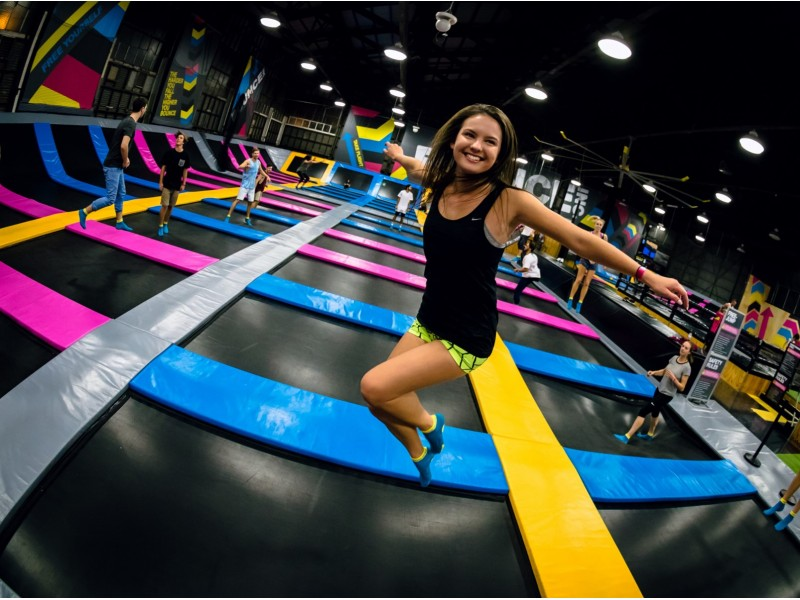 Trampoline Park Session for Two at Bounce Singapore (1 Hour)