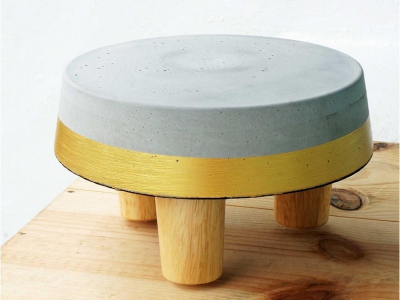 Concrete Stool Casting Workshop for One by Concrete Everything