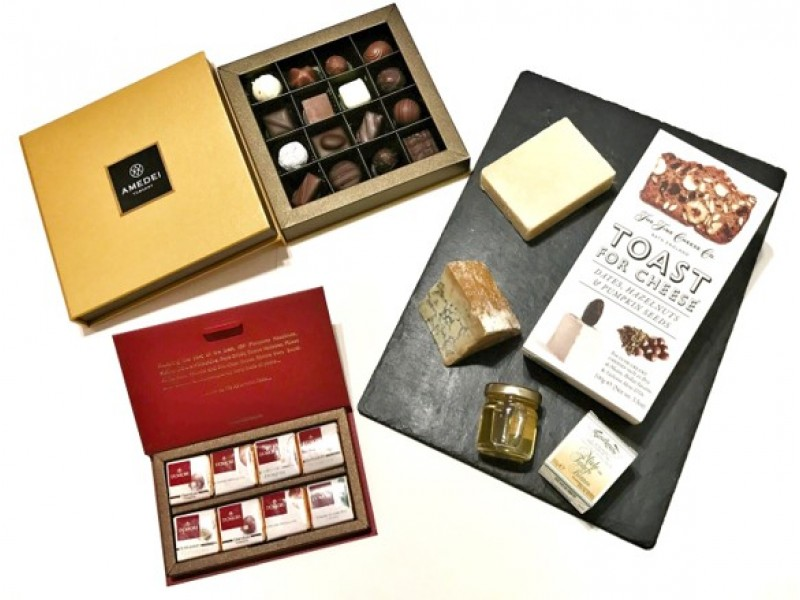 Cheese and Chocolate Treat by Gourmet Grocery