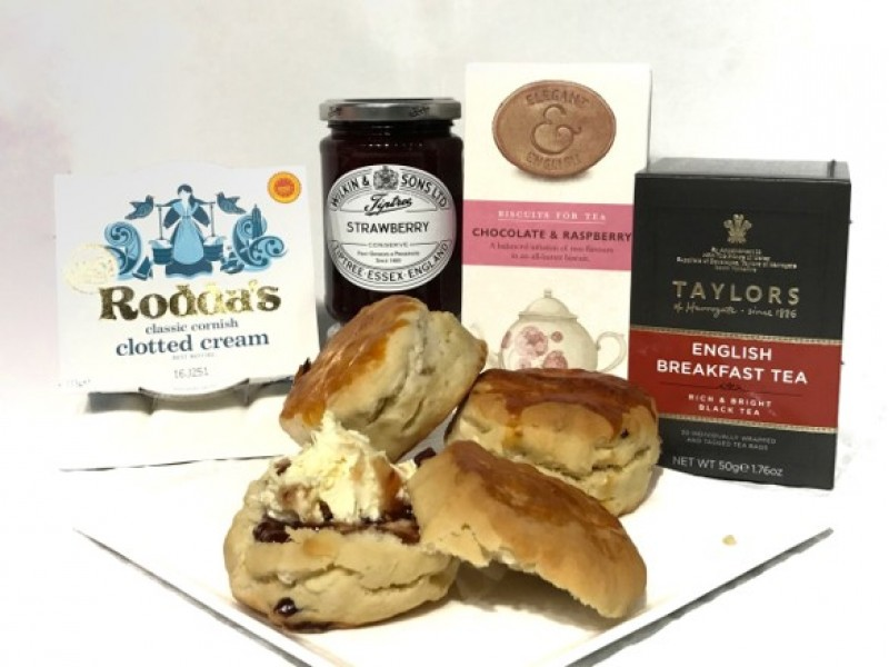 Cream Tea Hamper by Gourmet Grocery