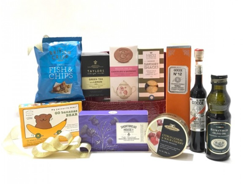 Vintage Hamper by Gourmet Grocery