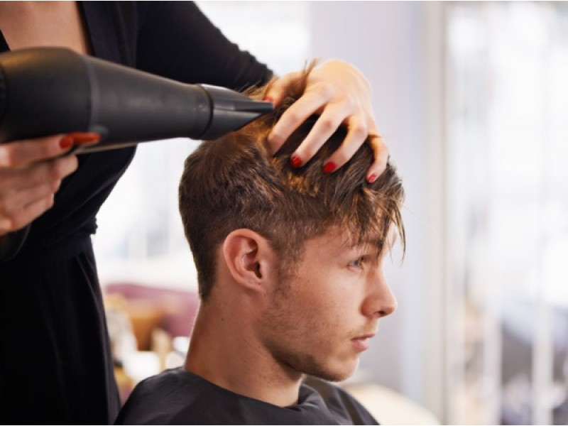 Haircut and Scalp Treatment for Men at Hairloom