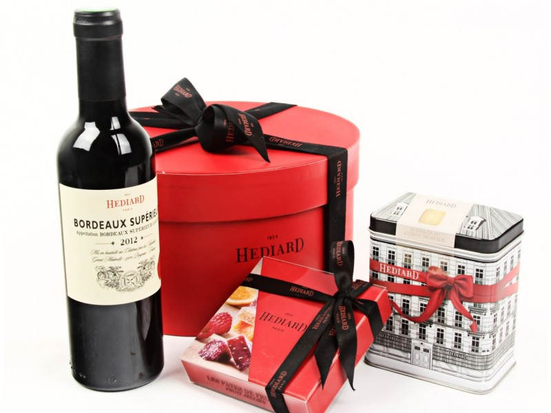 Celebratory Treats Hamper by Hediard