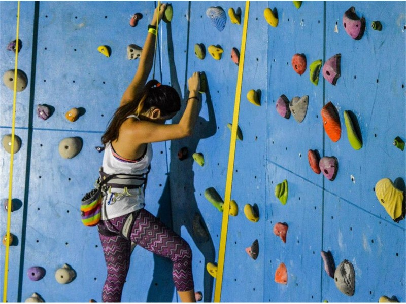 Indoor Rock Climbing Certification Course for Two at Ground Up Climbing