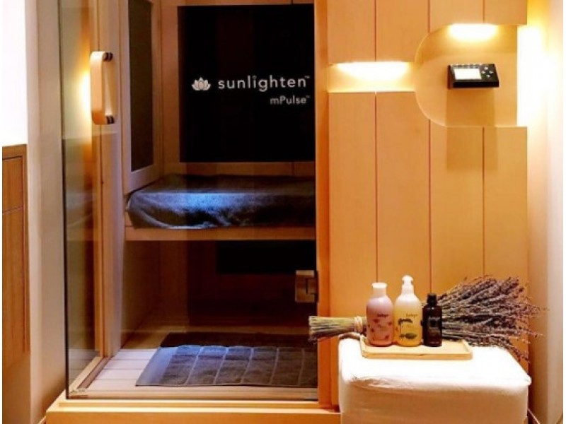 Detox Infrared Sauna at Nature's Spa by Jurlique