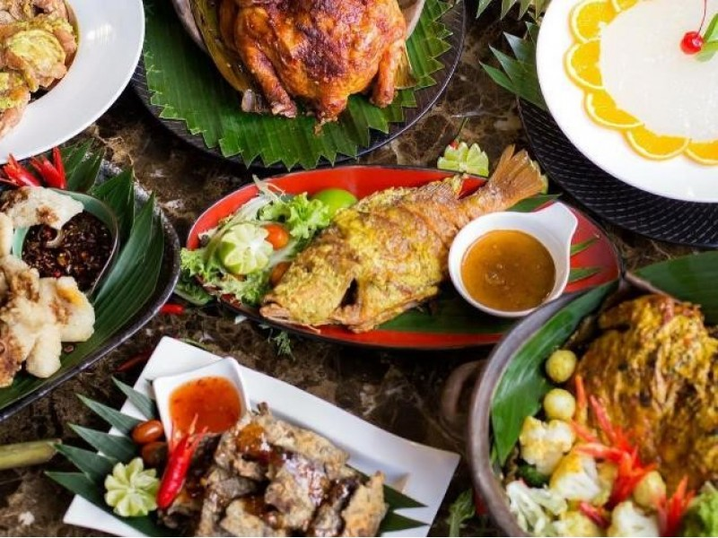 Lunch Buffet for Two at Kintamani Indonesian Restaurant