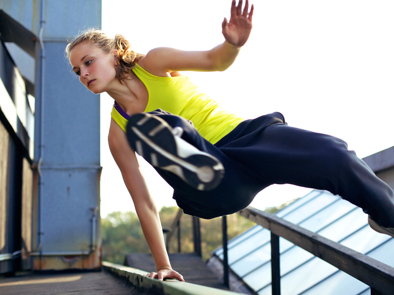 Parkour Training Sessions for One by A2 Movements