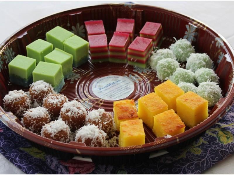 Desserts at PeraMakan Delicatessen