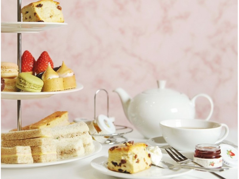 Afternoon Tea for Two at Singapore Marriott Tang Plaza Hotel