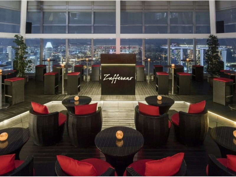 Rooftop Terrace Dining for Two at Zafferano