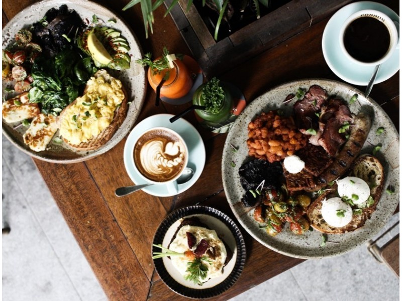 Brunch for two at Common Man Coffee Roasters