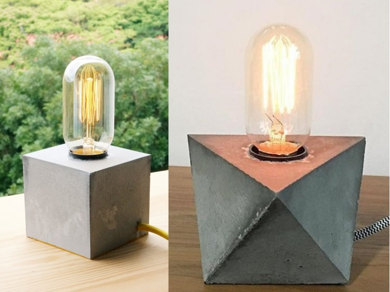 Industrial Desk Lamp Workshop for One by Concrete Everything