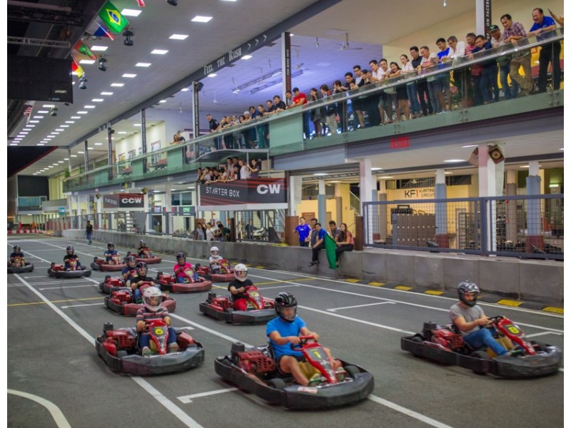 Advanced Fun Kart for Two at KF1 Karting Circuit