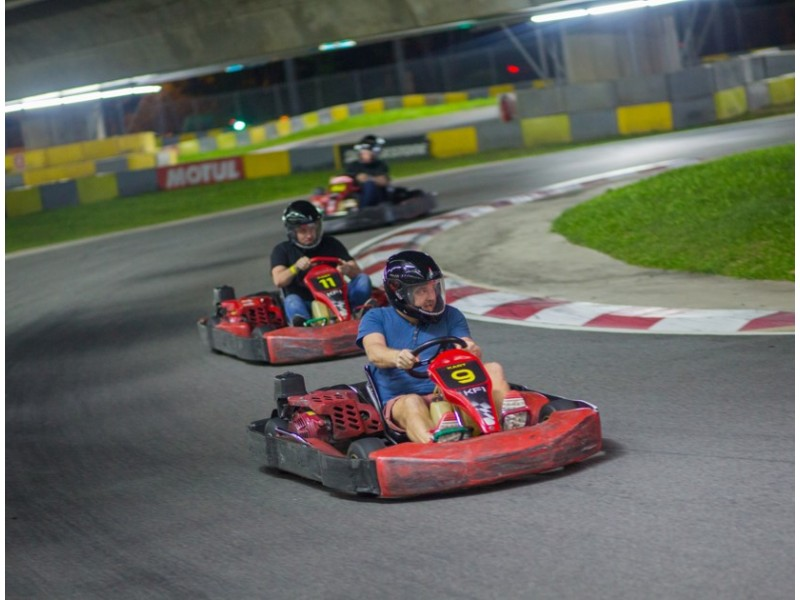 Novice Fun Kart for Two at KF1 Karting Circuit