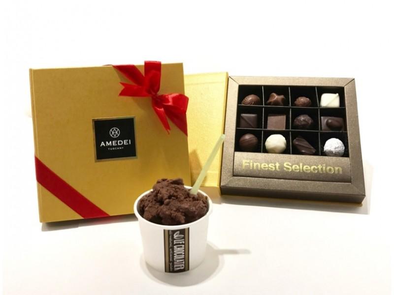 12-pieces Chocolate Delights and Gelato by Le Chocolatier
