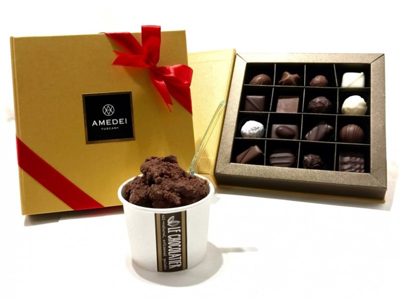 16-pieces Chocolate Delights and Gelato by Le Chocolatier