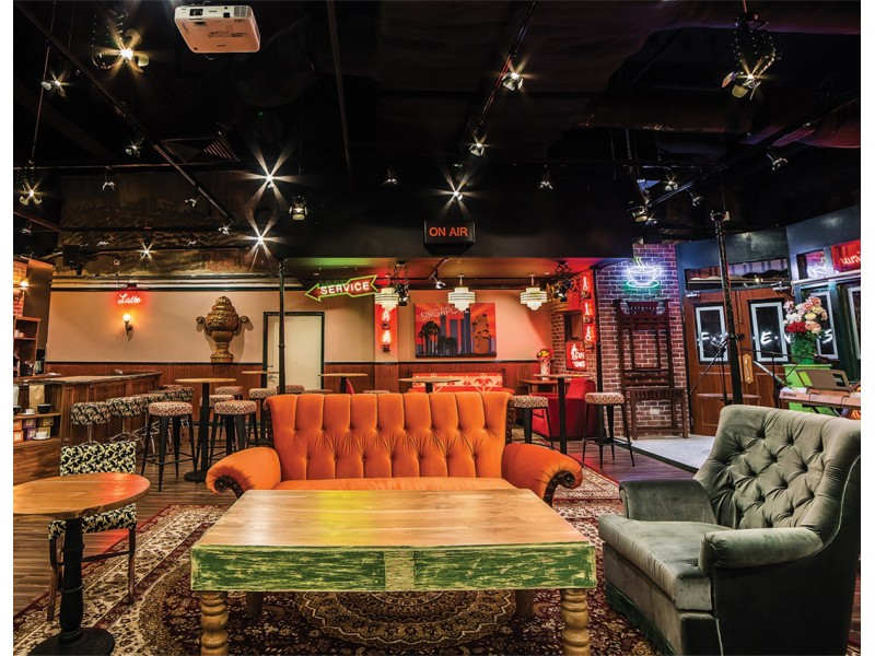 F.R.I.E.N.D.S Dining Experience for Two at Central Perk