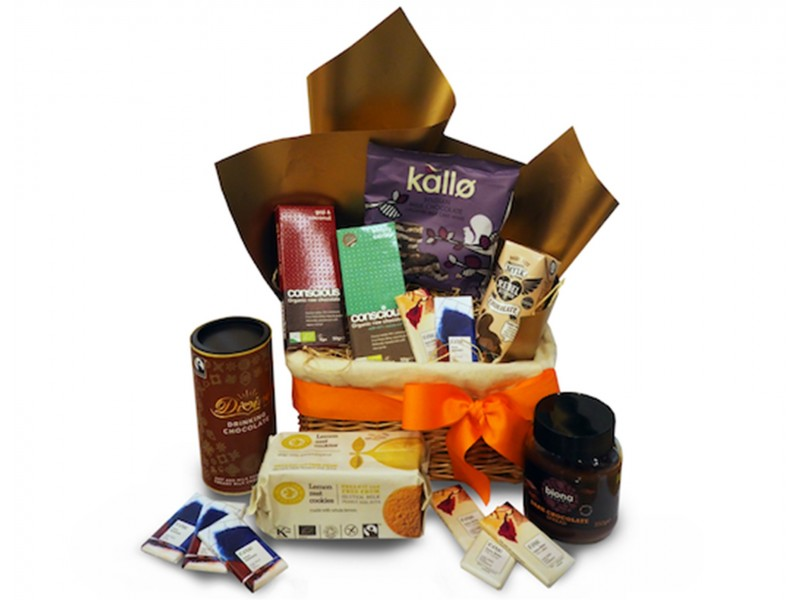 Chocolate Lovers Hamper by SuperNature