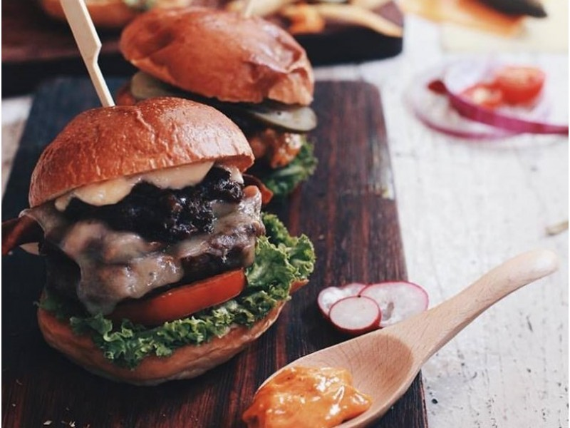 Dinner for Two at (working title) - Burger Bar