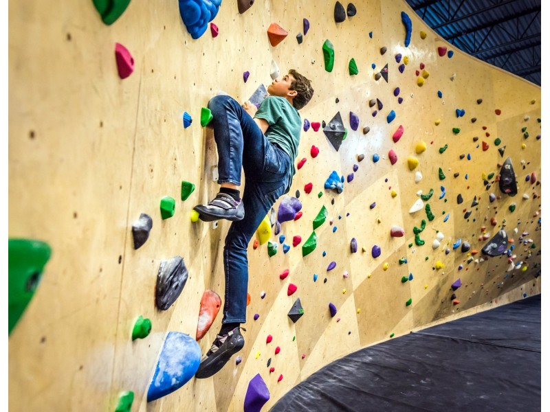 Indoor Rock Climbing Fun Session for Two at Ground Up Climbing