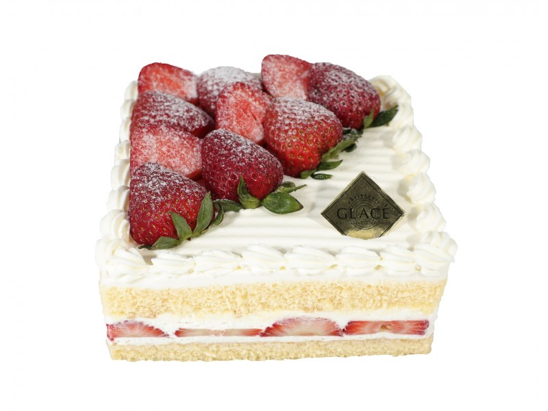 Strawberry Shortcake Deluxe to Takeaway at Patisserie Glace