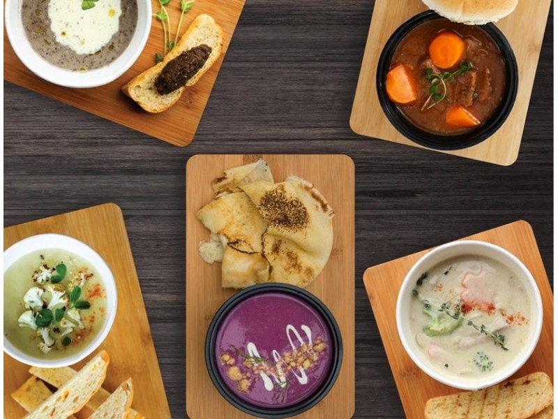 Soups Sets for Two at Saybons