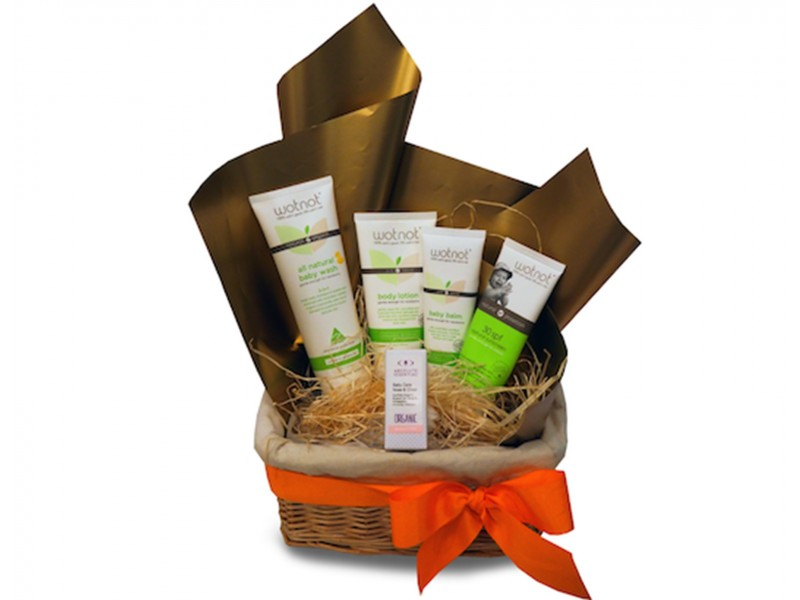 New Baby Hamper by SuperNature