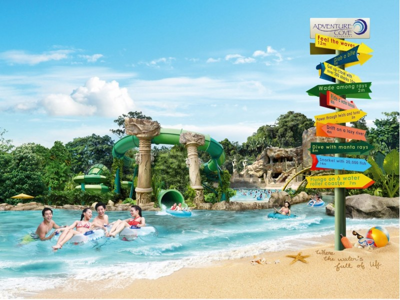 Adventure Cove Waterpark (Child Pass)