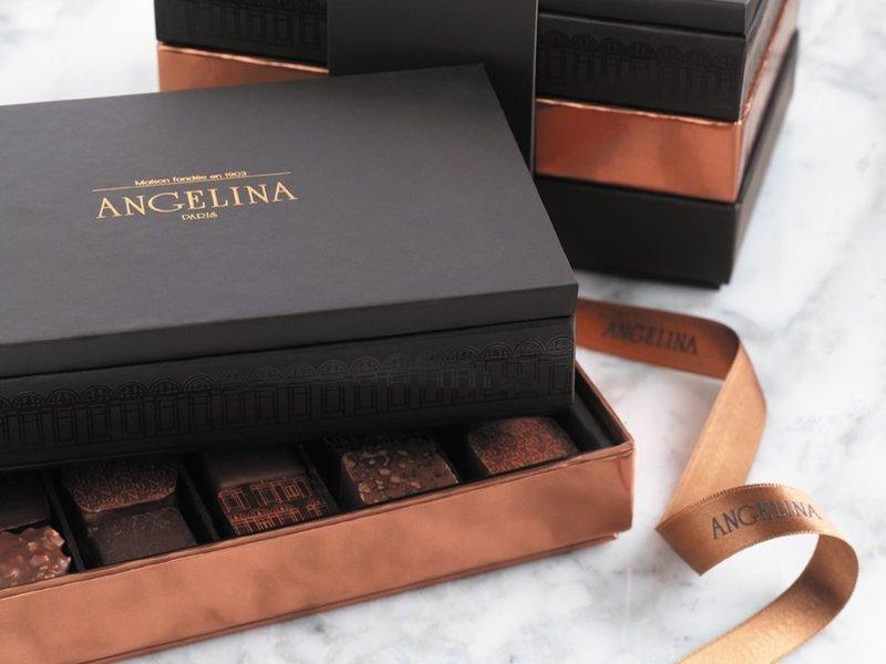 Chocolates at Angelina Tea Room & Patisserie (20pcs)