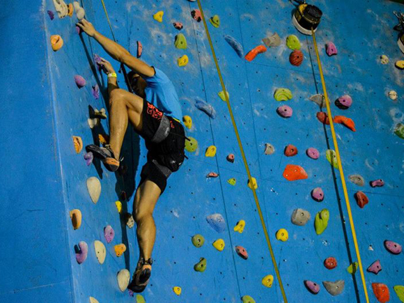 Indoor Rock Climbing Course for Three