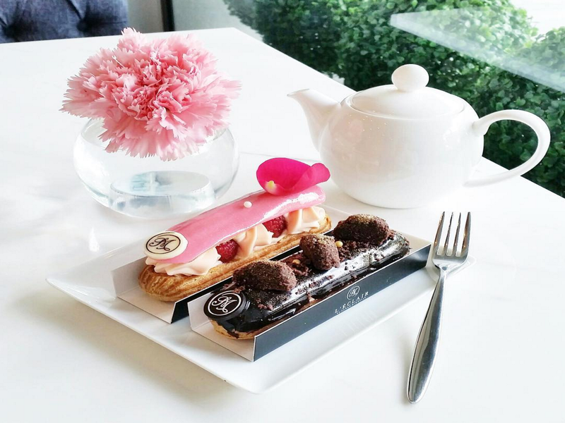 Dessert for Two at L'ECLAIR BY SARAH MICHELLE