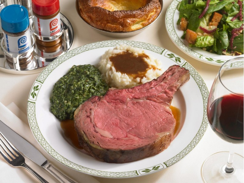 Dining for Two at Lawry's The Prime Rib