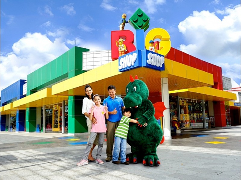 Legoland  (Theme & Water Combo) - (Child Ticket)