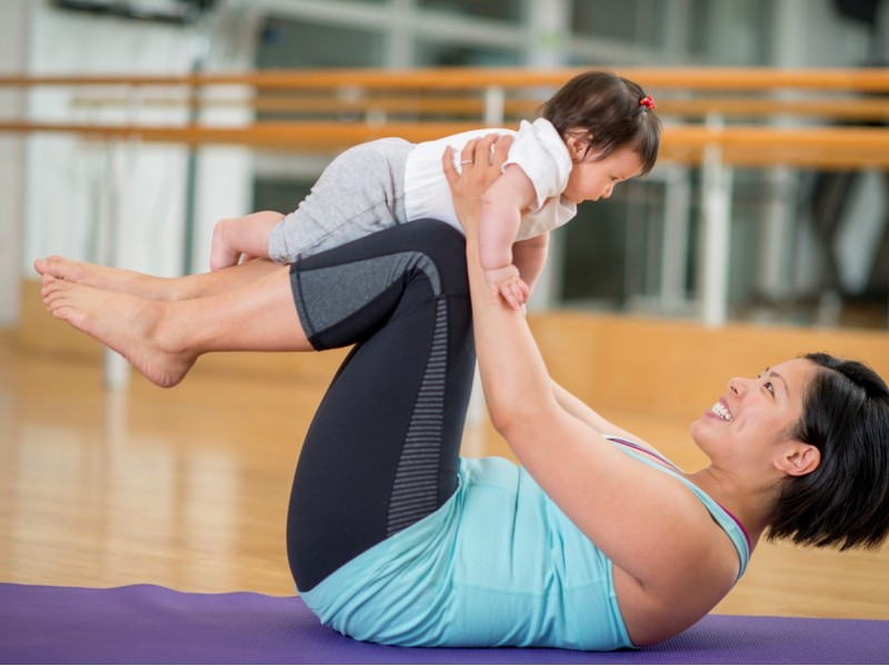 Post-Natal Yoga or Pilates for Mother and Baby at Mother & Child