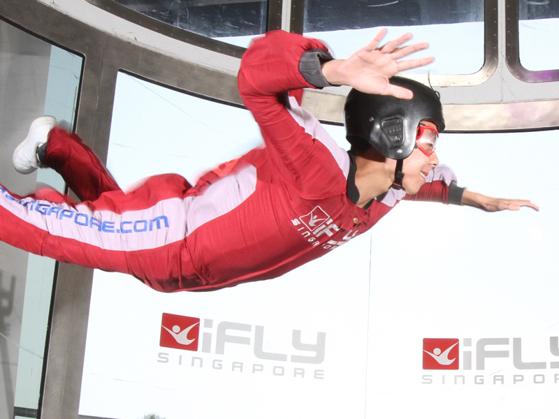 Indoor Skydiving Lesson for One at iFly Singapore (E-ticket)